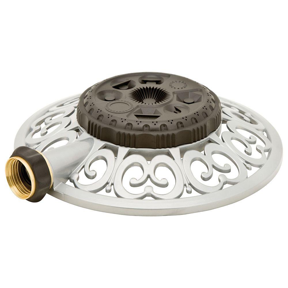 Melnor Decorative Metal 8-Pattern Turret Sprinkler