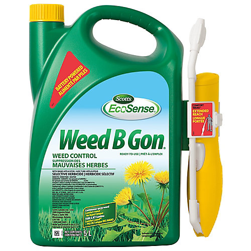 Scotts Weed B Gon 5L Lawn Weed Control Formula with Ready To Use Comfort Wand