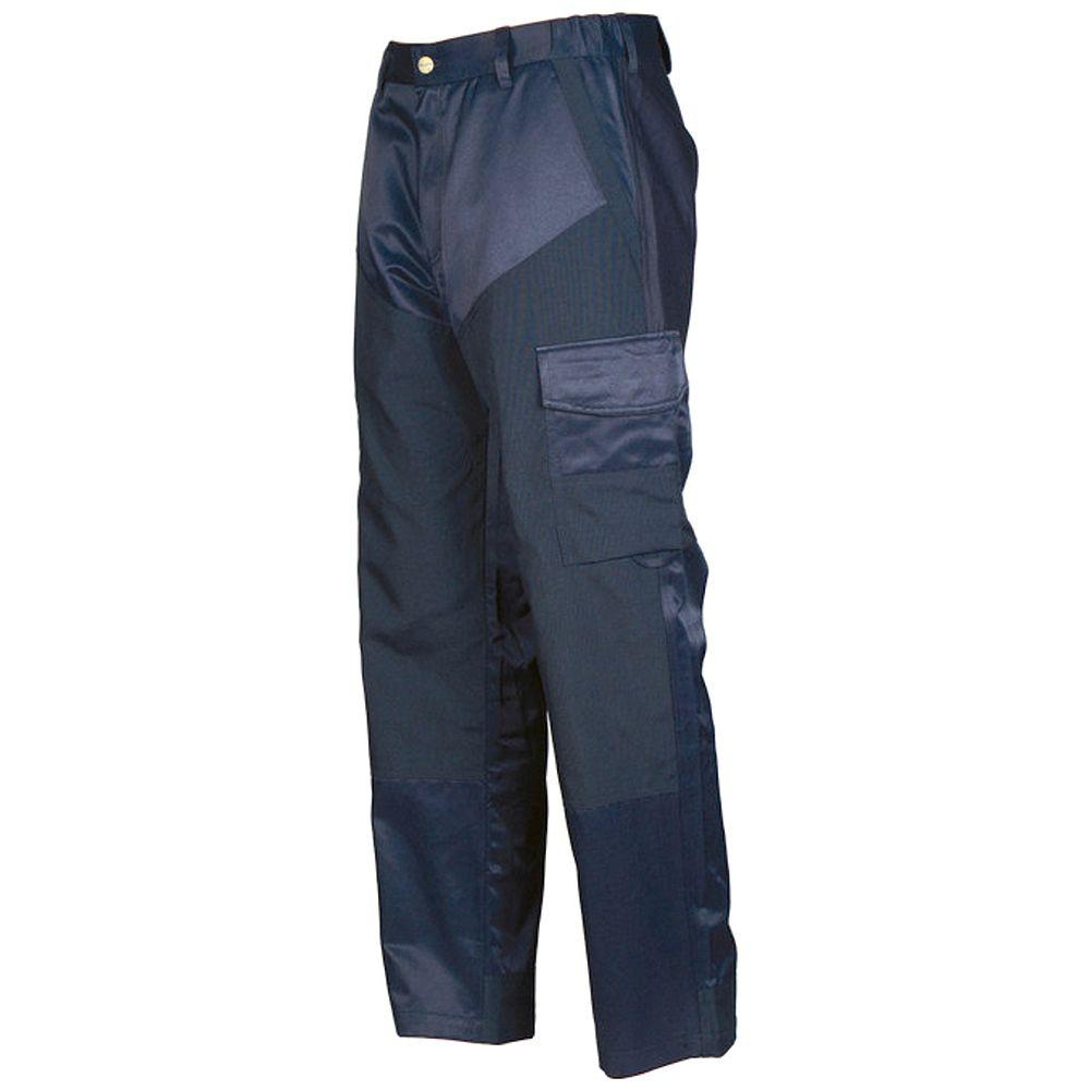 Projob Swedish Workwear Men's Stretch Back Driver's Pants - Navy - 38X30