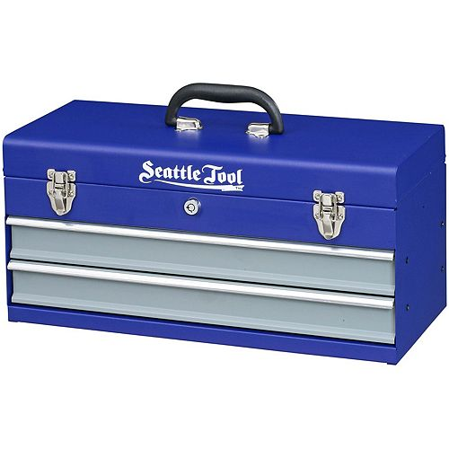 Seattle Tool 19-inch 2 Drawer Tool Chest