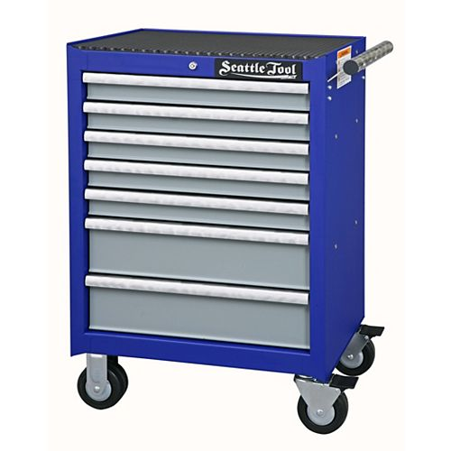 Seattle Tool Elite Series 26-inch 7-Drawer Tool Cabinet