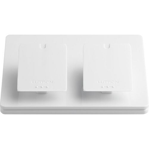 Caseta Wireless Dual-Pedestal for Pico Remote, White