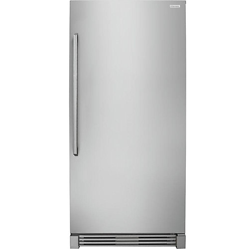 32-inch W 19 cu. ft. Freezerless Refrigerator in Stainless Steel, Counter Depth