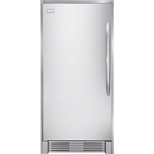19 cu. ft. Single-Door Freezer in Stainless Steel
