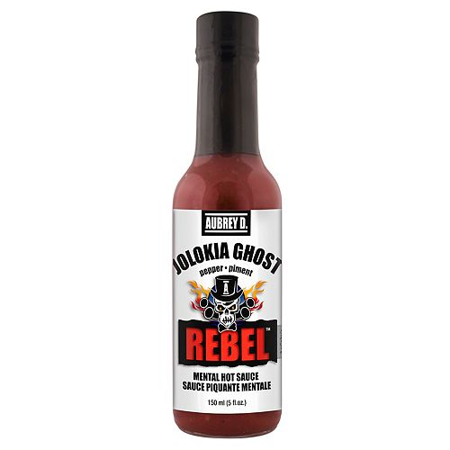 Sauce piquante Jolokia Ghost Rebel