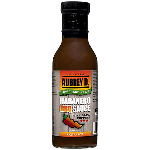 Sauce BBQ Habanero ave des piments datils)