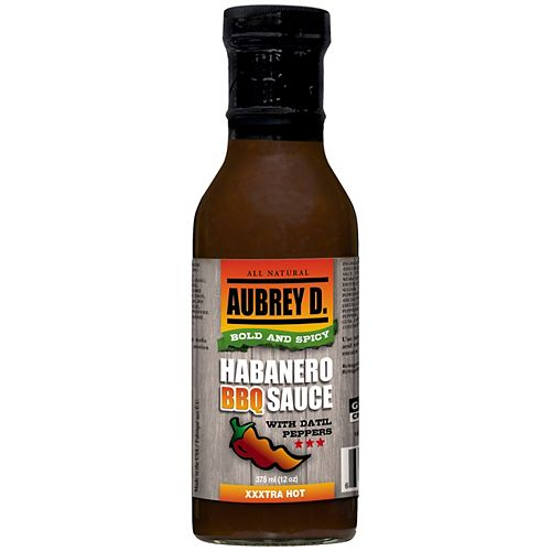 375 mL Habanero BBQ Sauce with Datil Peppers
