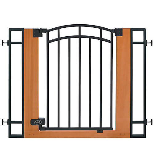 Wood & Metal Walk-Thru Gate