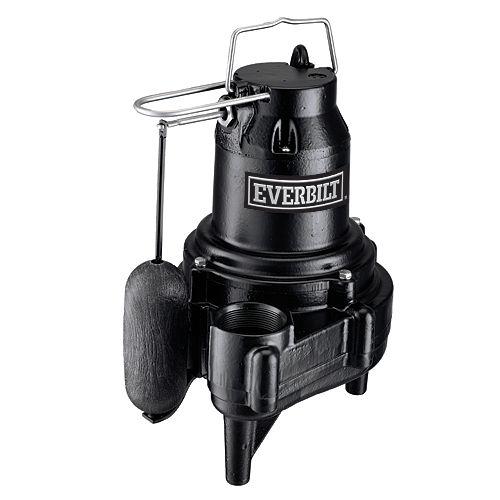 1/2 HP Heavy-Duty Sewage Pump