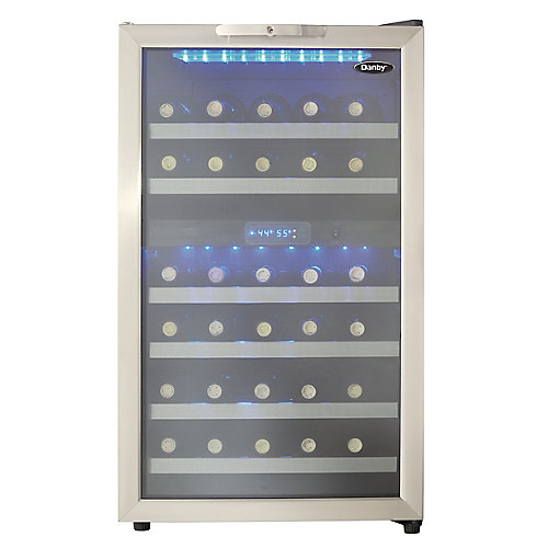 38 Bottle Dual Zone Wine Cooler
