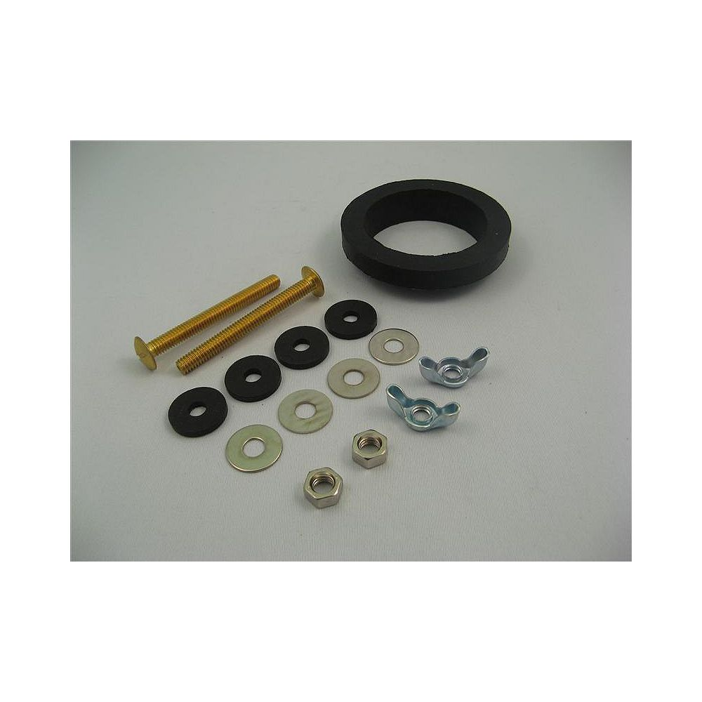 Jag Plumbing Products Contractor Pack :  Standard Tank to Bowl Kit - 6 Packs