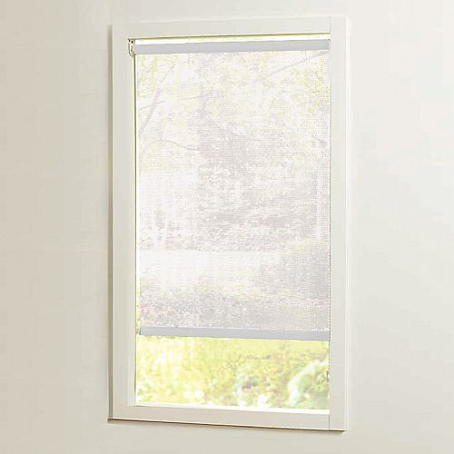 55 in x72in White Cut-to-Size Solar shades