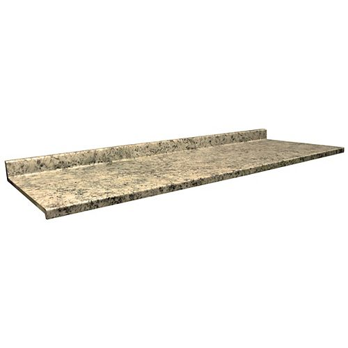4952-22 Profile 2700 25.5-inch x 72-inch Laminate Kitchen Countertop in Typhoon Ice