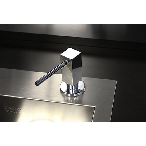 Quatris II Soap Dispenser, Chrome