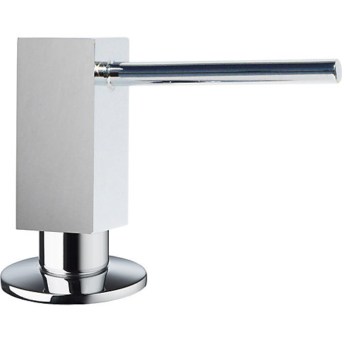 Quatris II Soap Dispenser in Stainless Steel