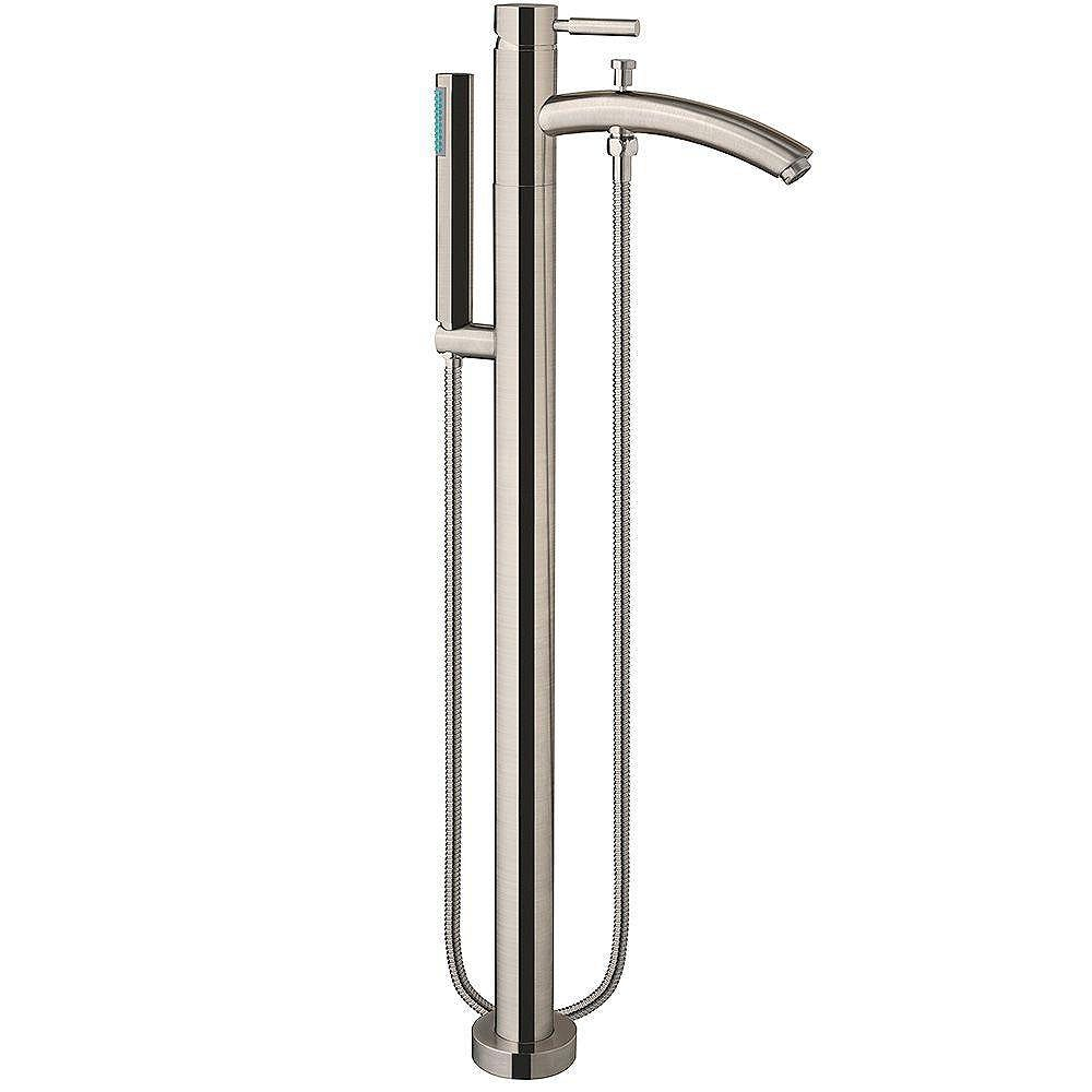 Wyndham Collection Taron Tub Faucet Filler in Brushed Nickel Finish