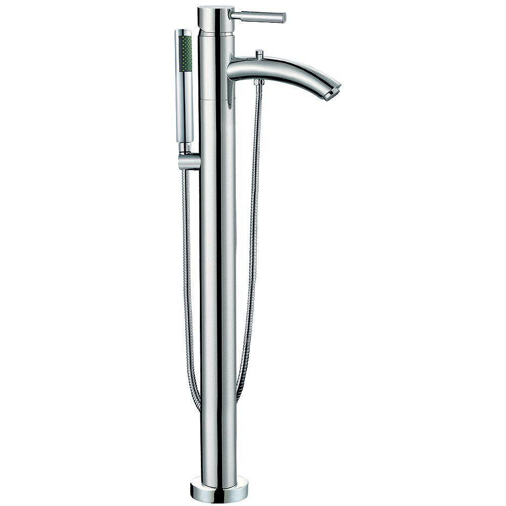 Wyndham Collection Taron Tub Faucet Filler in Chrome Finish