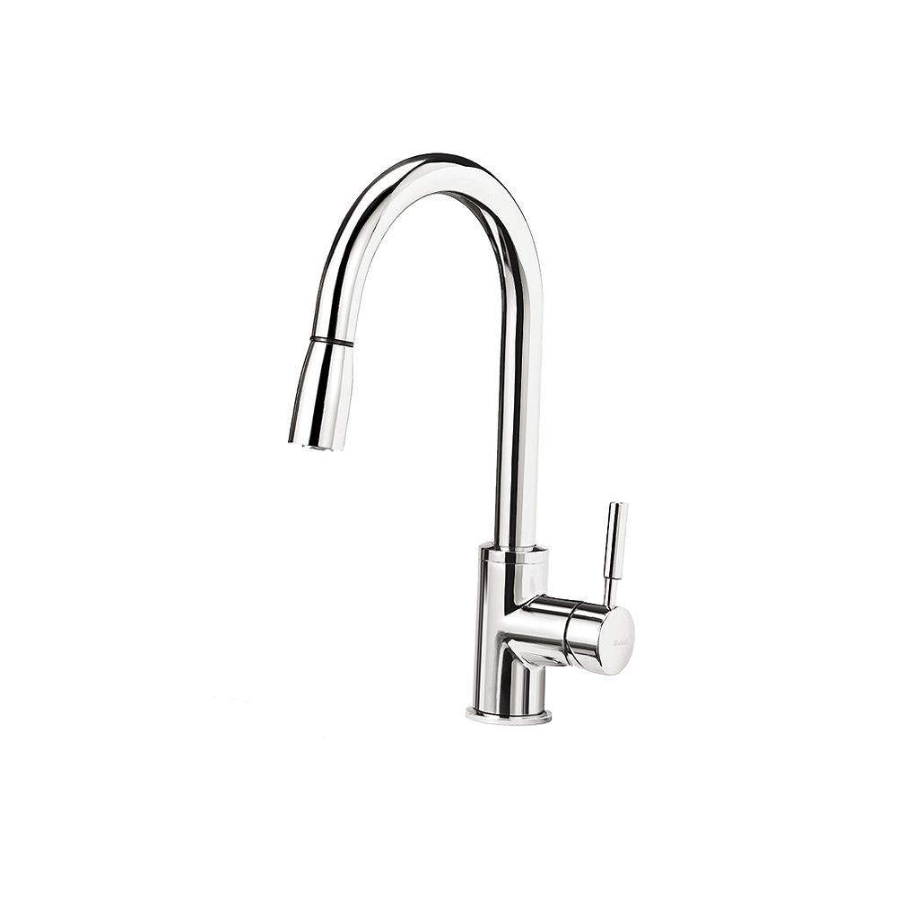 Blanco SONOMA, Pull-down Kitchen Faucet, 2.2 GPM flow rate (Dual-spray), Chrome