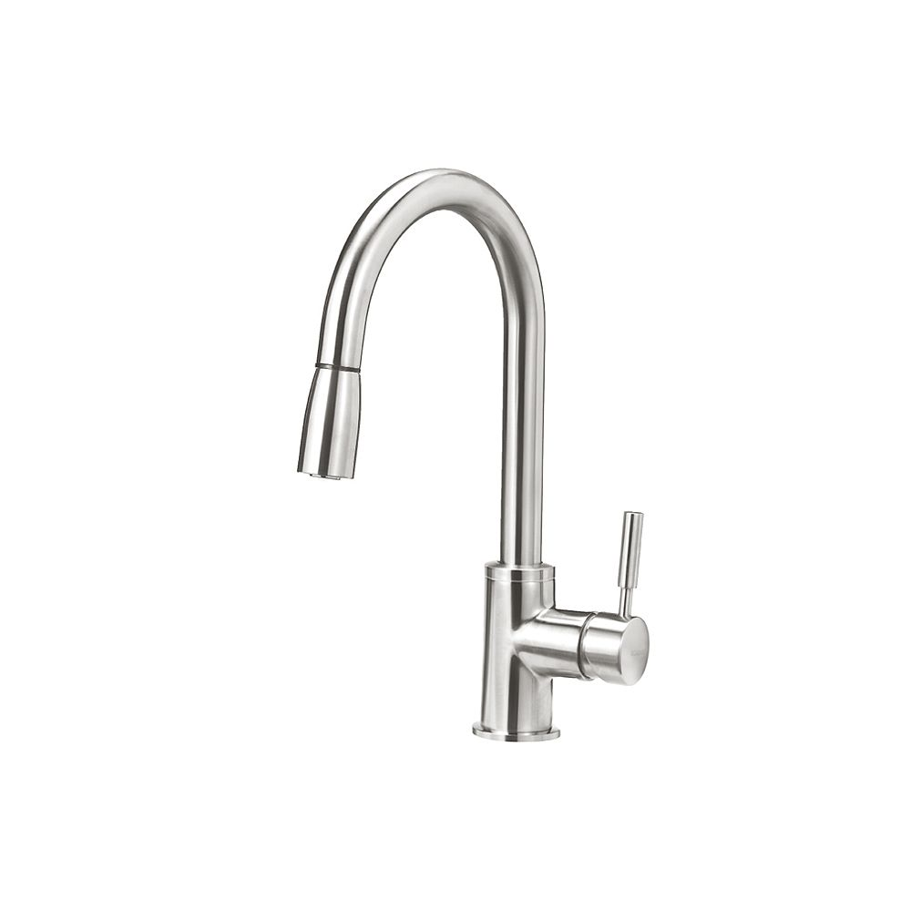 Blanco SONOMA, Pull-down Kitchen Faucet, 2.2 GPM flow rate (Dual-spray), Stainless Finish