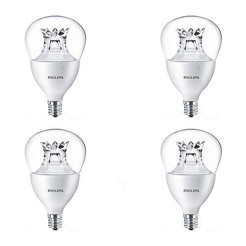 Philips Ampoule DEL lum. ch. petit culot ENERGY STAR A15, éq. 40 W, 2 700 K à 2 200 K, bl. doux, ens. de 4