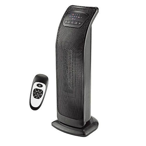 23 Inch Oscillating Tower Ceramic Heater