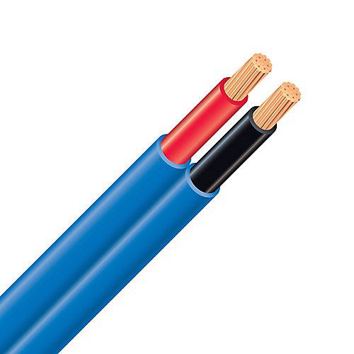 Câble électrique de haut-parleur mural – 14/2 bleu 150 m
