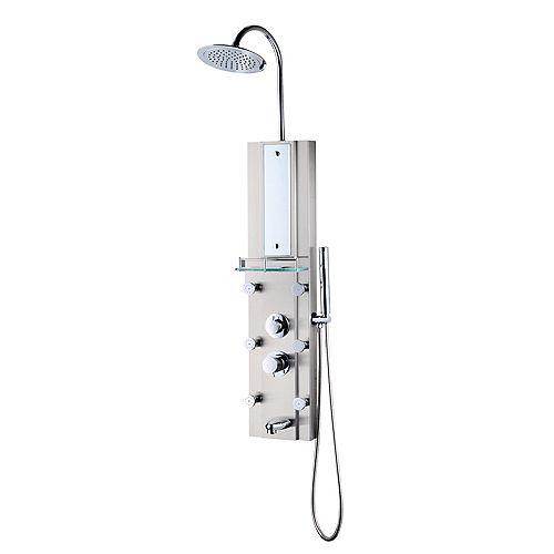 Colonne de douche en aluminium Malta