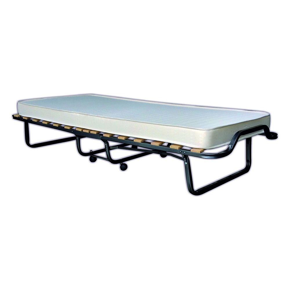 Veraflex LUXOR FL et un lit roulant et pliant avec matelas mousse mémoire