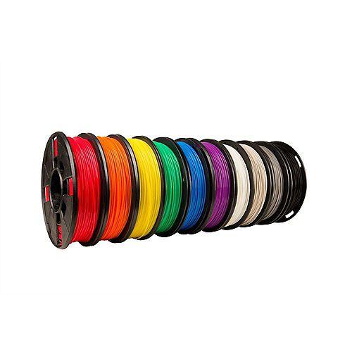 MakerBot - Dix Pack Couleurs vraies petites bobine filament PLA