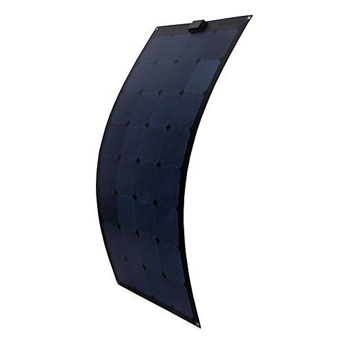 Panneau solaire semi-flexible de 15W pour recharge de 12V
