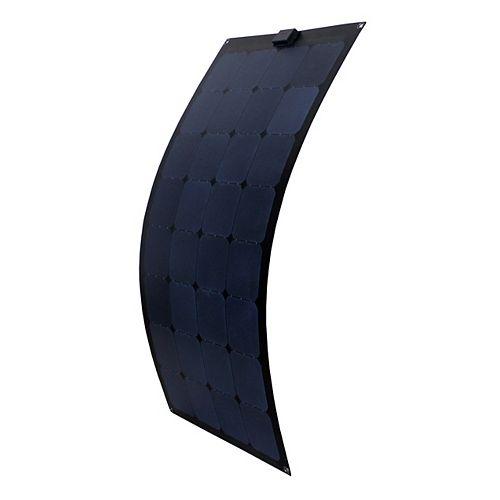 Nature Power 15-Watt Semi-Flex Monocrystalline Solar Panel for 12-Volt Charging