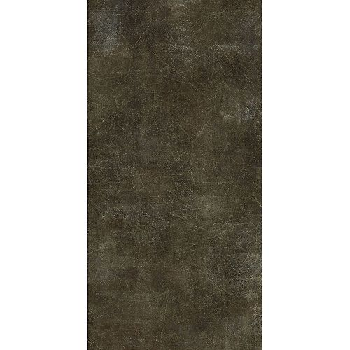12-inch x 23.82-inch Vinyl Flooring in Scratched Concrete Moss (19.8 sq. ft./case)
