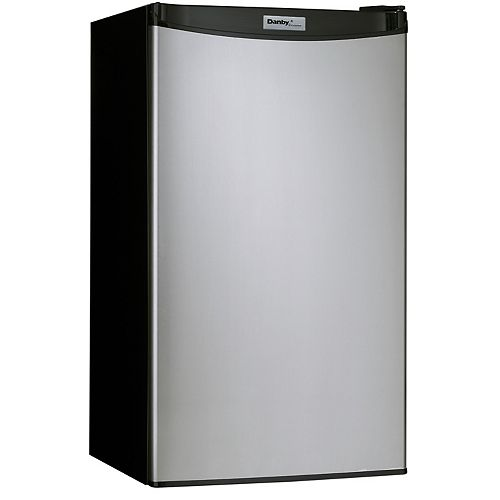 Danby Designer 3.2 cu. ft. Compact Fridge in Spotless Steel - ENERGY STAR®