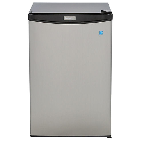 Designer 4.4 cu. ft. Compact Refrigerator in Spotless Steel - ENERGY STAR®