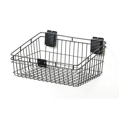 Everbilt 12-inch × 18-inch Mountable Metal Basket