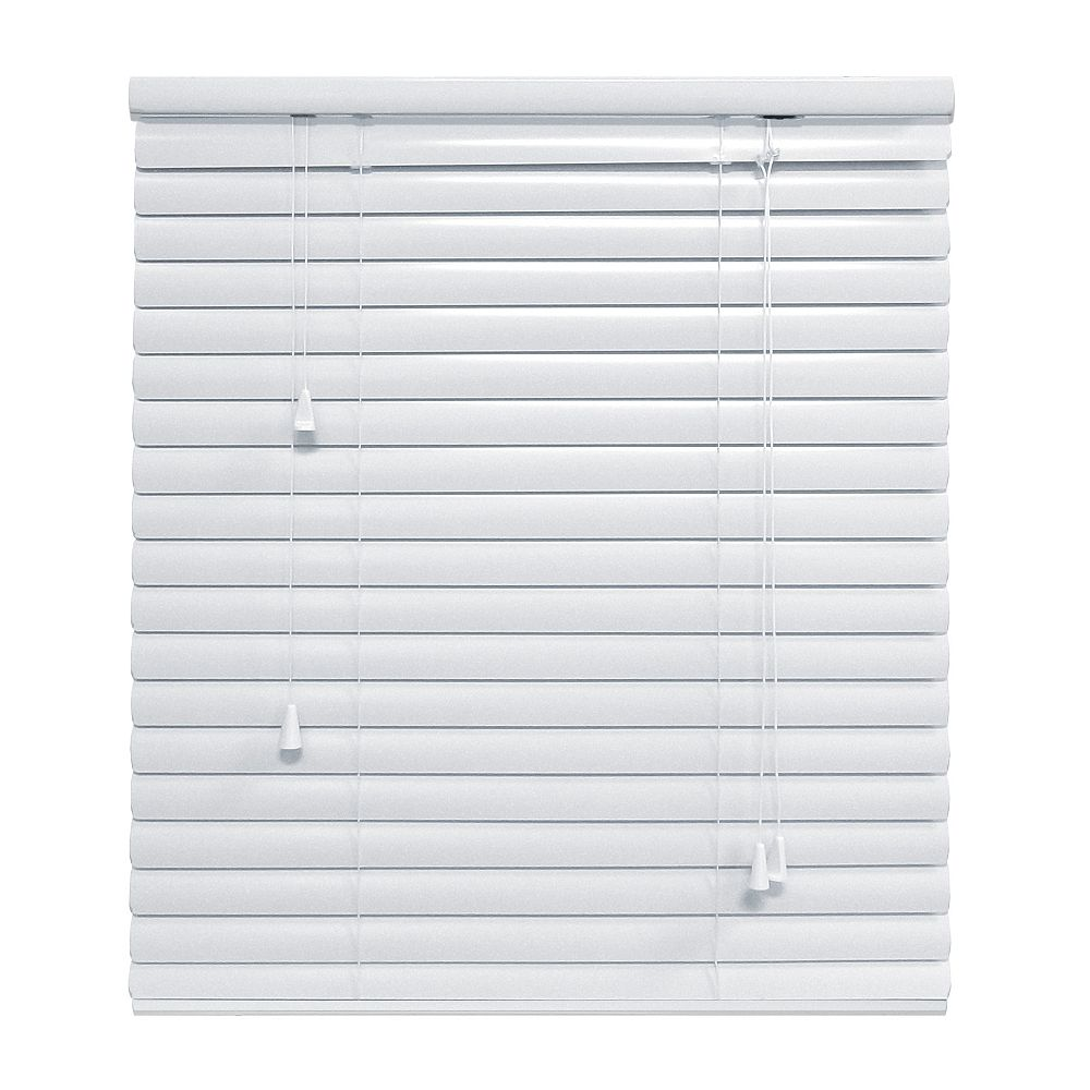 Hampton Bay White 1 3/8 Inch.  Premium Aluminum Blind 30x48