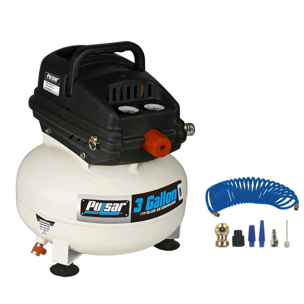 Pulsar 3 Gallon Air Compressor