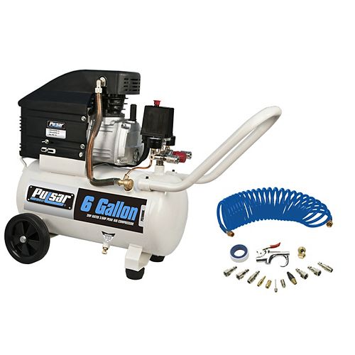 6 gallon Air Compressor with kit