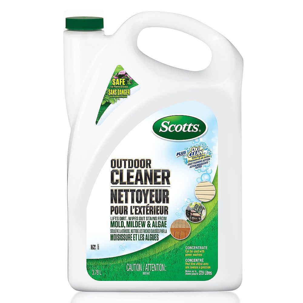 Scotts 3.78 L Outdoor Cleaner Plus OxiClean Concentrate