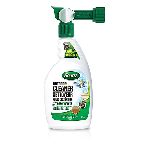 947 mL Outdoor Cleaner Plus Oxi Clean in Spray Bottle