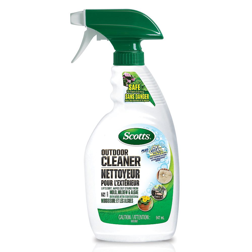 Scotts Outdoor Cleaner Plus Oxi Clean 947 ml Ready to Use