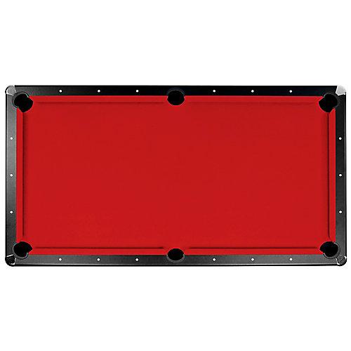 Championship Saturn II 8 ft. Billiard Cloth Pool Table Felt in Red