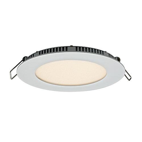 5-inch White Round LED Edgelit Panel Light 620 Lumens - ENERGY STAR®
