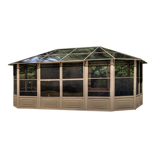 Florence Solarium 12 Ft. x 18 Ft. in Sand