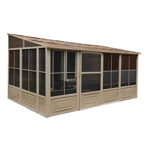 Florence Add-A-Room 10 Ft. x 16 Ft. in Sand