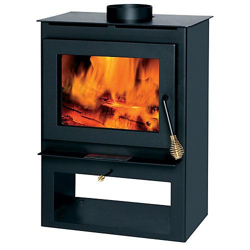 1200 sq. ft. Wood-Burning Stove