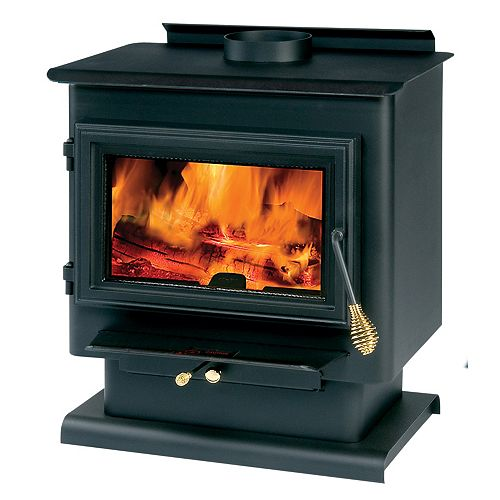 Englander Wood-Burning Stove for up to 1,800 sq. ft. Spaces with 1.8 cu. ft. Firebox