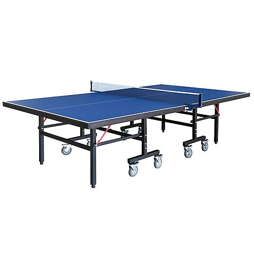 Hathaway Back Stop 9-Foot Table Tennis for Family Game Rooms with Foldable Halves for Individual Play