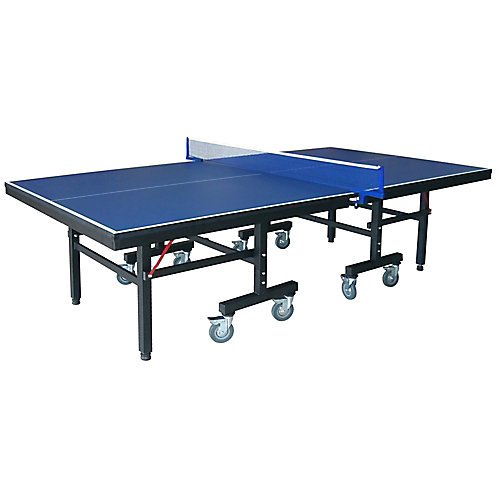 Victory Professional 9-Foot Table Tennis Table with 25mm Thick Surface, 2-Inch Steel Supports