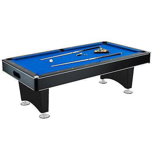 Hustler 88-inch x 44-inch Pool Table in Black